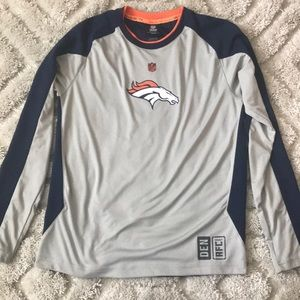 Long sleeve dry fit t Denver Broncos